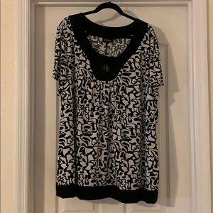 Women's plus size 30 / 32 soft dress shirt Avenue